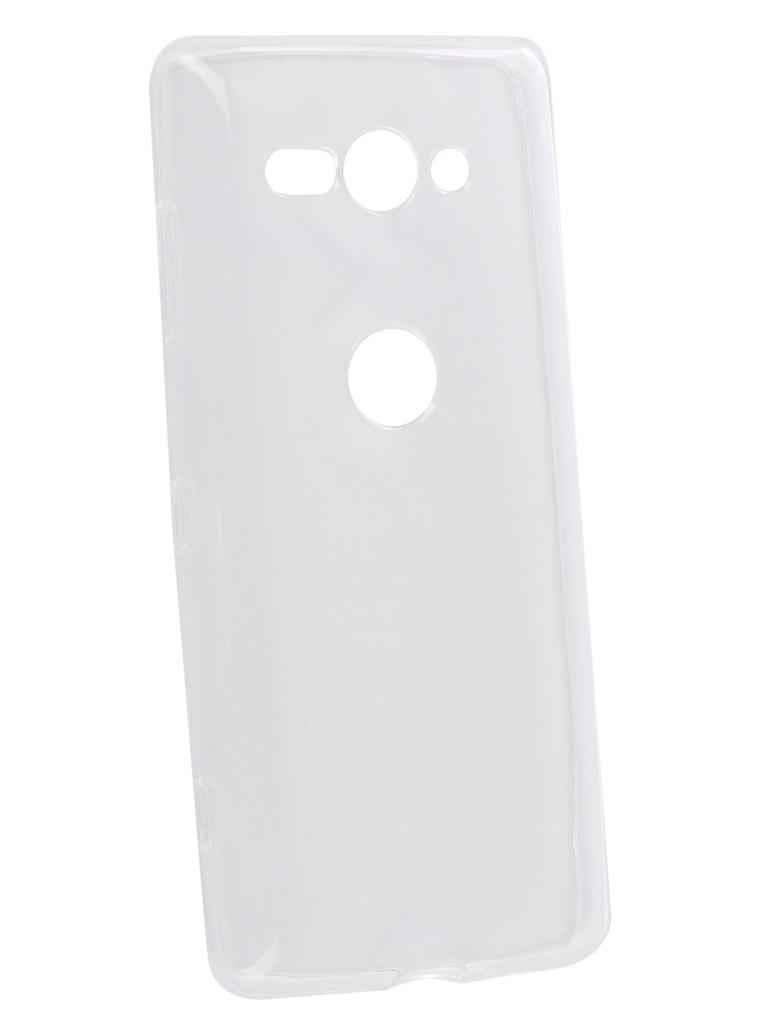 Чехол Onext для Sony Xperia XZ2 Compact Silicone Transparent 70573 кейс для назначение sony xperia xz2 xperia xz2 compact бумажник для карт кошелек со стендом чехол ловец снов твердый кожа pu для
