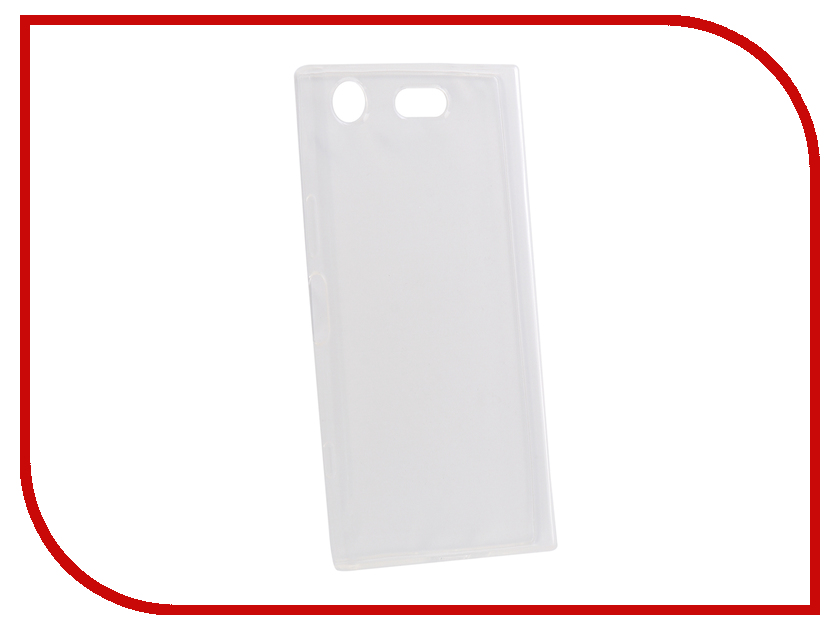 Аксессуар Чехол для Sony XZ1 Compact Onext Silicone Transparent 70528 аксессуар чехол для sony xperia xa1 ultra brosco silicone transparent xa1u tpu transparent