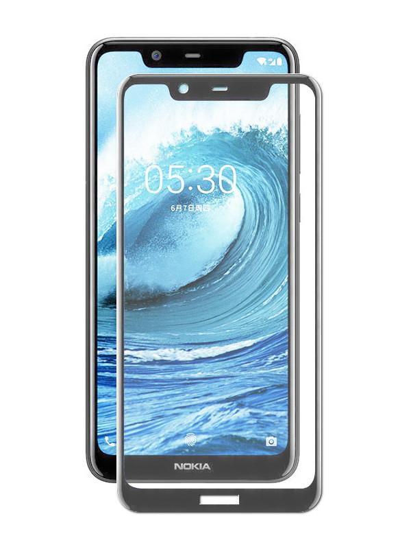 Аксессуар Защитное стекло Onext для Nokia 5.1 Plus 2018 3D Full Glue 41838 защитное стекло onext для nokia 7 plus 2018 641 41768