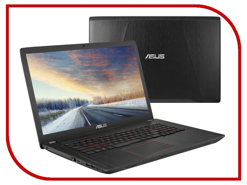 Ноутбук ASUS ROG FX753VD-GC171 Black 90NB0DM3-M09900 (Intel Core i5-7300HQ 2.5 GHz/8192Mb/1000Gb+128Gb SSD/nVidia GeForce GTX 1050 2048Mb/Wi-Fi/Cam/17.3/1920x1080/DOS) кроссовки nike nike ni464amjfe96