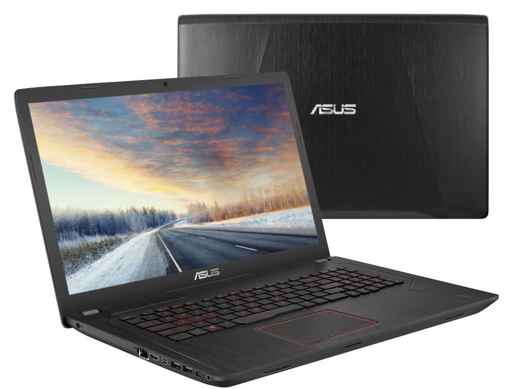 Ноутбук ASUS FX753VD-GC171 Black 90NB0DM3-M09900 (Intel Core i5-7300HQ 2.5 GHz/8192Mb/1000Gb+128Gb SSD/nVidia GeForce GTX 1050 2048Mb/Wi-Fi/Cam/17.3/1920x1080/DOS)