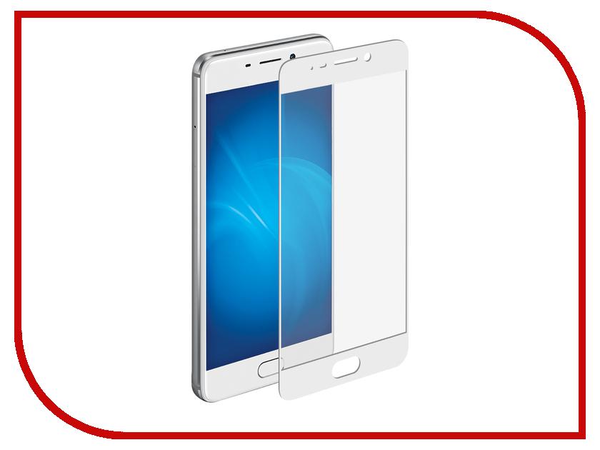 Аксессуар Защитное стекло для Meizu M6 Note Onext White Frame 41528