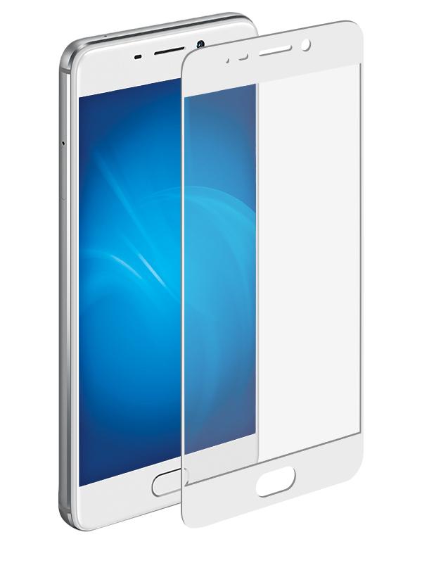 Аксессуар Защитное стекло для Meizu M6 Note Onext White Frame 41528 onext защитное стекло onext для телефона meizu u20