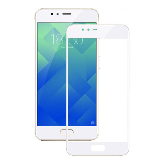 Аксессуар Защитное стекло для Meizu M5s Onext White Frame 41462 onext защитное стекло onext для телефона meizu u20
