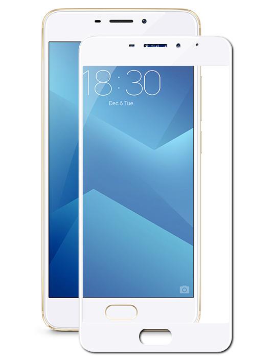 Аксессуар Защитное стекло для Meizu M5 Note Onext White Frame 41451 onext защитное стекло onext для телефона meizu u20
