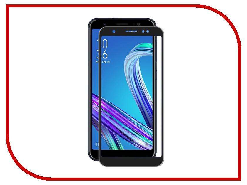 Аксессуар Защитное стекло для ASUS ZenFone Max M1 2018 Onext Full Glue Black Frame 41772 аксессуар защитное стекло для asus zenfone go zb500kl zb500kg onext 41192