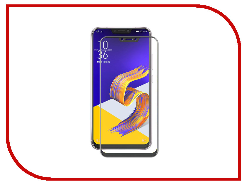 Аксессуар Защитное стекло для ASUS ZenFone 5z ZS620KL Onext Black Frame 41770 free shipping bf1ad10 5z bfiad10 5z fuel injection pump suit for changfa changchai and any chinese brand