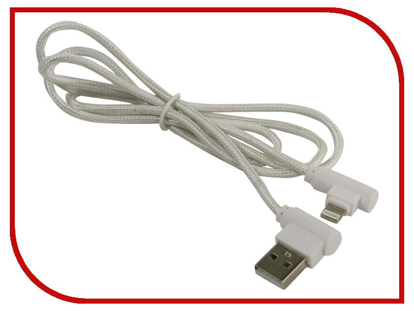 Аксессуар KS-is USB - Lightning 1.0m White KS-358W аксессуар ks is usb to rs 232 pl2303 213 ks 213