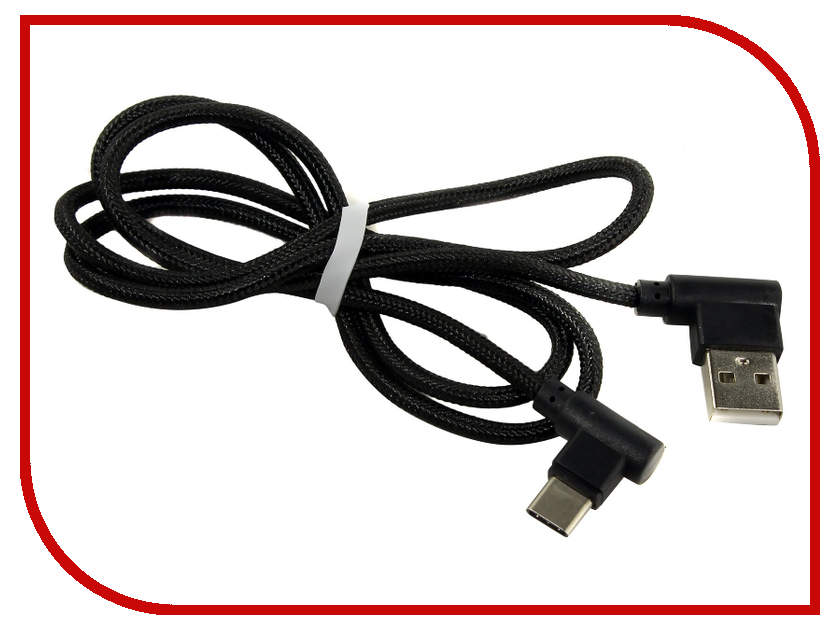 Аксессуар KS-is USB - Type-C 1.0m Black KS-357B аксессуар devia fish 1 usb usb c 1 5m black 22267