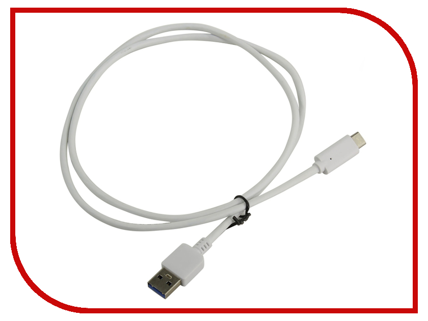 Аксессуар KS-is USB - Type-C 1.0m White KS-325W аксессуар ks is usb type c 1 0m black ks 357b