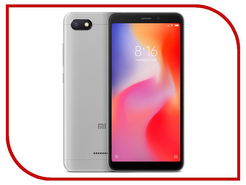 Сотовый телефон Xiaomi Redmi 6A 2/32GB Grey смартфон xiaomi redmi 6a 2 32gb gold