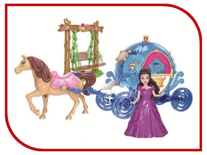Игровой набор Наша игрушка Карета Каникулы принцессы SS027A