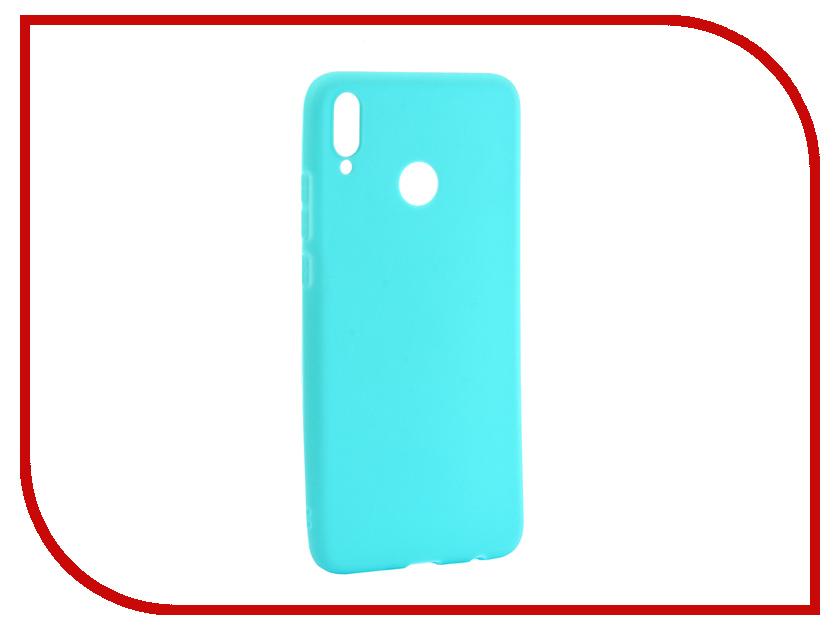 Аксессуар Чехол для Huawei Honor 8X Zibelino Soft Matte Turquoise ZSM-HUA-8X-TQS аксессуар чехол для samsung galaxy j4 2018 j400f zibelino soft matte turquoise zsm sam j400f tqs