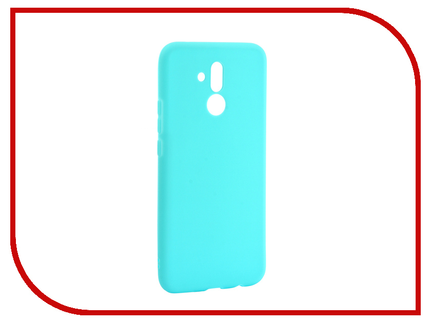 Аксессуар Чехол для Huawei Mate 20 Lite Zibelino Soft Matte Turquoise ZSM-HUA-M20LIT-TQS аксессуар чехол samsung j3 2017 j330f zibelino clear view black zcv sam j330 blk