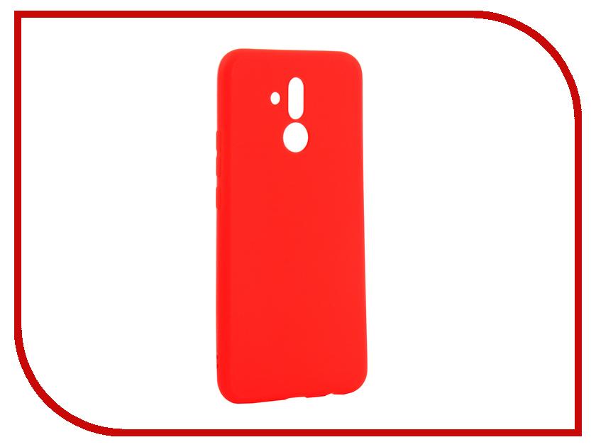 Аксессуар Чехол для Huawei Mate 20 Lite Zibelino Soft Matte Red ZSM-HUA-M20LIT-RED аксессуар чехол samsung j3 2017 j330f zibelino clear view black zcv sam j330 blk