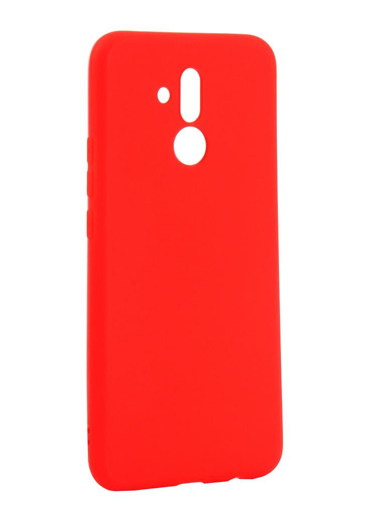 Аксессуар Чехол Zibelino для Huawei Mate 20 Lite Soft Matte Red ZSM-HUA-M20LIT-RED