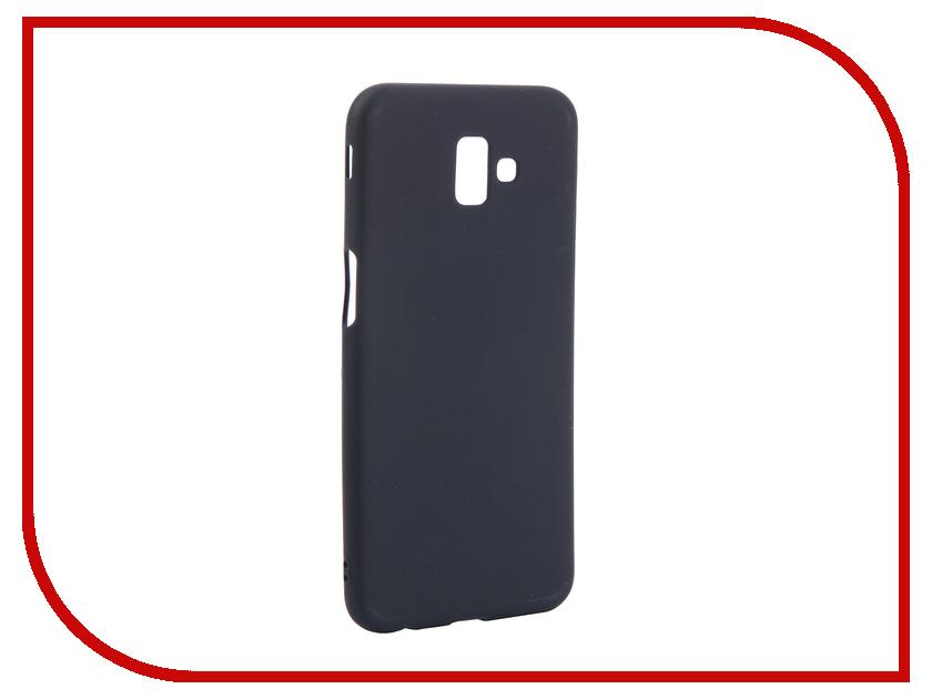 Аксессуар Чехол для Samsung Galaxy J6 Plus J610F 2018 Zibelino Soft Matte Dark Blue ZSM-SAM-J610F-DBLU