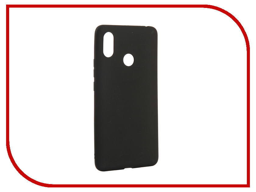Аксессуар Чехол для Xiaomi Mi Max 3 Zibelino Soft Matte Black ZSM-XIA-MAX3-BLK аксессуар чехол для xiaomi mi a2 lite zibelino soft matte red zsm xia a2lt red