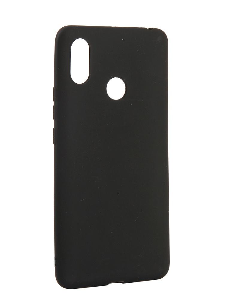Чехол Zibelino для Xiaomi Mi Max 3 Soft Matte Black ZSM-XIA-MAX3-BLK