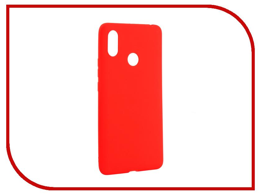 Аксессуар Чехол для Xiaomi Mi Max 3 Zibelino Soft Matte Red ZSM-XIA-MAX3-RED