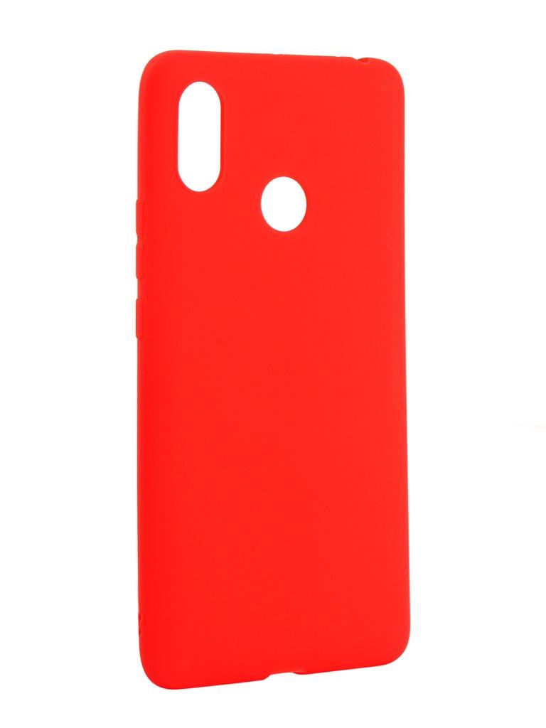 Аксессуар Чехол Zibelino для Xiaomi Mi Max 3 Soft Matte Red ZSM-XIA-MAX3-RED аксессуар чехол для apple iphone xs max zibelino soft matte red zsm apl xsmax red