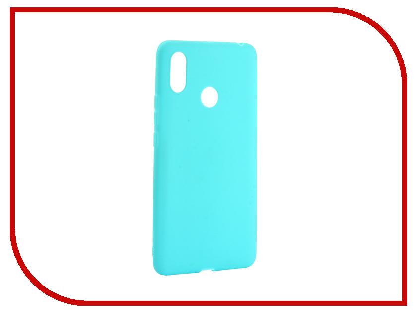 Аксессуар Чехол для Xiaomi Mi Max 3 Zibelino Soft Matte Turquoise ZSM-XIA-MAX3-TQS аксессуар чехол для samsung galaxy j4 2018 j400f zibelino soft matte turquoise zsm sam j400f tqs