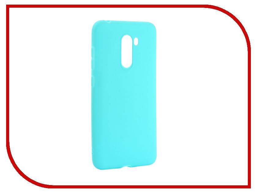 Аксессуар Чехол для Xiaomi Pocophone F1 Zibelino Soft Matte Turquoise ZSM-XIA-F1-TQS аксессуар чехол для samsung galaxy j4 2018 j400f zibelino soft matte turquoise zsm sam j400f tqs