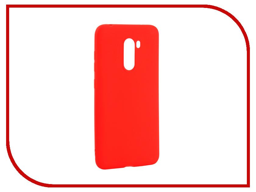 Аксессуар Чехол для Xiaomi Pocophone F1 Zibelino Soft Matte Red ZSM-XIA-F1-RED f1 2015 parent