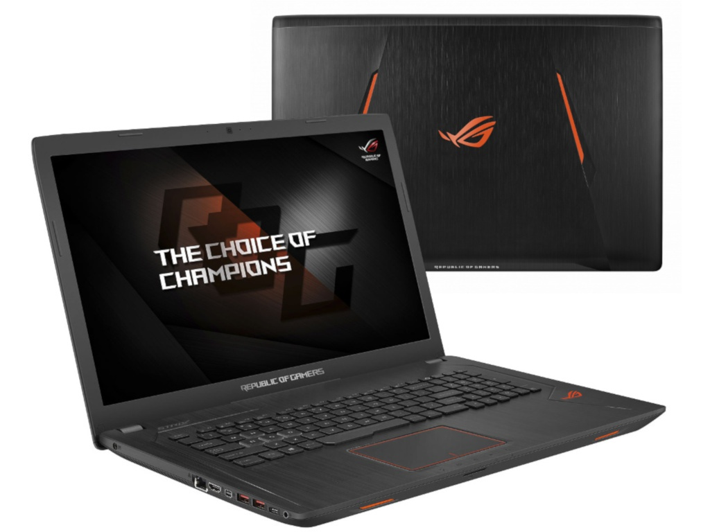 Ноутбук ASUS ROG GL753VD-GC526T Black 90NB0DM2-M09290 (Intel Core i5-7300HQ 2.5 GHz/12288Mb/1000Gb+256Gb SSD/nVidia GeForce GTX 1050 2048Mb/Wi-Fi/Cam/17.3/1920x1080/Windows 10)