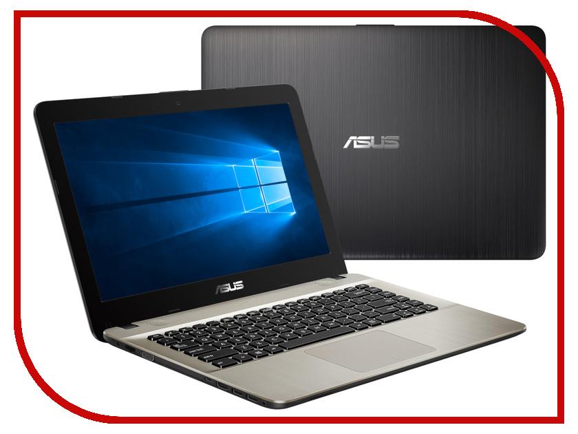 Ноутбук ASUS VivoBook X441MA-GA143T Black-Gold 90NB0H41-M02060 (Intel Pentium N5000 1.1 GHz/4096Mb/1000Gb/DVD-RW/Intel HD Graphics/Wi-Fi/Bluetooth/Cam/14.0/1366x768/Windows 10) ноутбук asus x540sa xx020t 90nb0b31 m00730 intel pentium n3700 1 6 ghz 2048mb 500gb dvd rw intel hd graphics wi fi cam 15 6 1366x768 windows 10