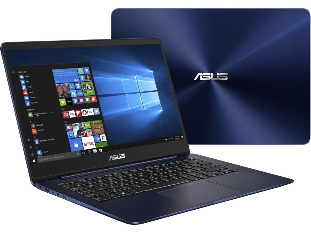 Ноутбук ASUS Zenbook UX430UA-GV499T Blue 90NB0EC5-M11540 (Intel Core i3-7100U 2.4 GHz/4096Mb/256Gb SSD/Intel HD Graphics/Wi-Fi/Bluetooth/Cam/14.0/1920x1080/Windows 10)