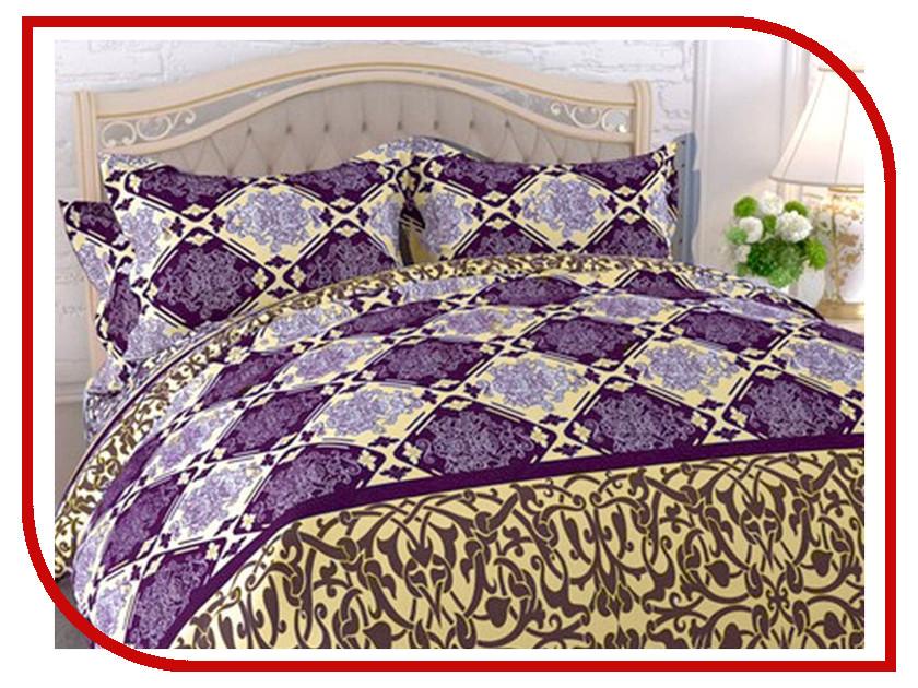Постельное белье Эго Соната Комплект 1.5 спальный Бязь ЭБ-2011-01 постельное белье эго комплект 1 5 спальный полисатин