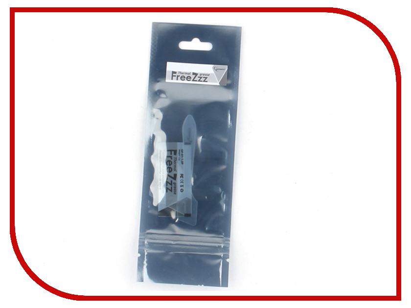 Термопаста Gembird FreeZzz GF-01-1.5P 1.5г цена