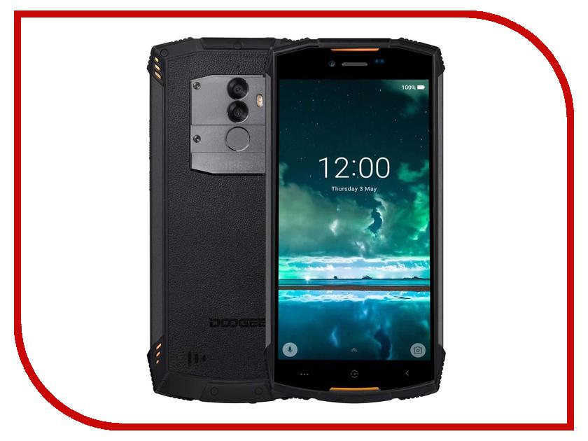 Сотовый телефон DOOGEE S55 Lite Fire Orange сотовый телефон vertex impress tor black orange