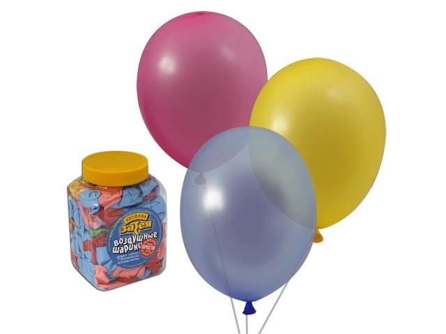Набор воздушных шаров Веселая затея 10-inch 200шт Ассорти 1110-0003