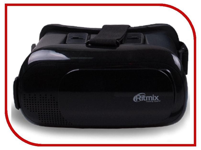 Очки виртуальной реальности Ritmix RVR-002 Black smarterra vr2 mark 2 black очки виртуальной реальности