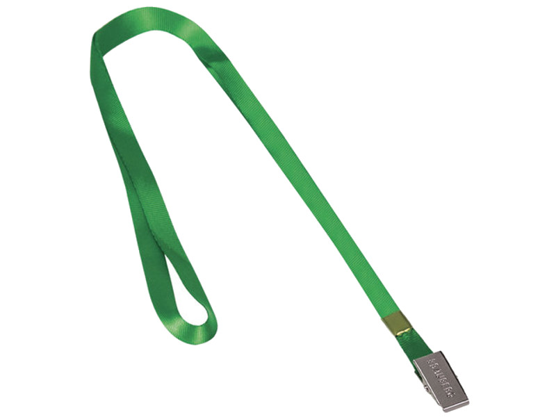 Лента для бейджей Brauberg 45cm Green 235735