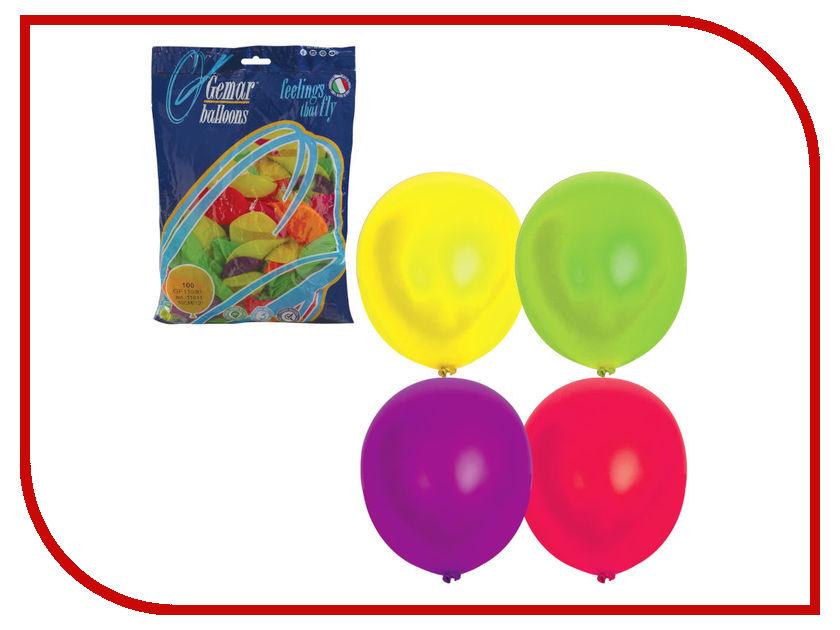 Набор воздушных шаров Веселая затея 12-inch 100шт Неон Ассорти 1101-0005 lermony yz04 0005
