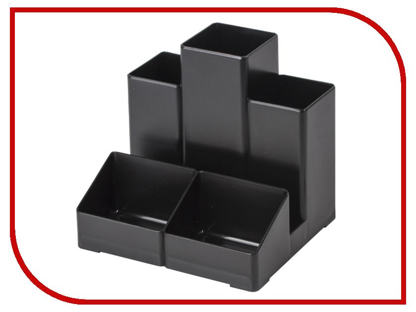Подставка-органайзер Brauberg Contract 109х95х101 5mm Black 230893 lson 6 5mm male to 3 5mm female stereo audio adapters black silver 5 pcs