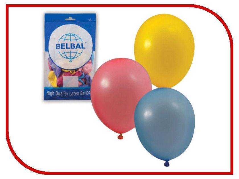 Набор воздушных шаров Веселая затея 10-inch 50шт Пастель Ассорти 1101-0031 snobi 2015 reloj relogio 0031