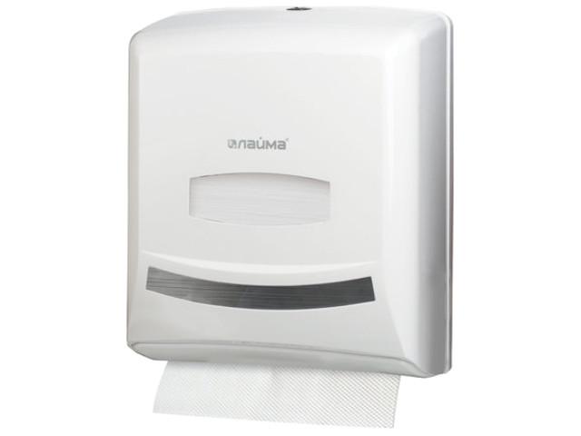 цена на Дозатор Лайма Professional White для полотенец 601426