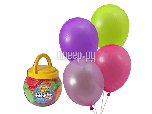 Набор воздушных шаров Веселая затея 10-inch 200шт Неон Ассорти 1110-0000