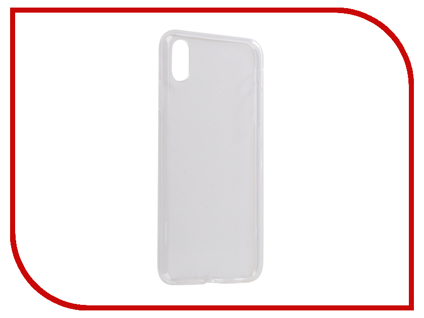 Аксессуар Чехол Svekla Silicone для APPLE iPhone XS Max Transparent SV-APXSMAX-WH аксессуар чехол для htc u11 svekla silicone transparent sv htuu11 wh