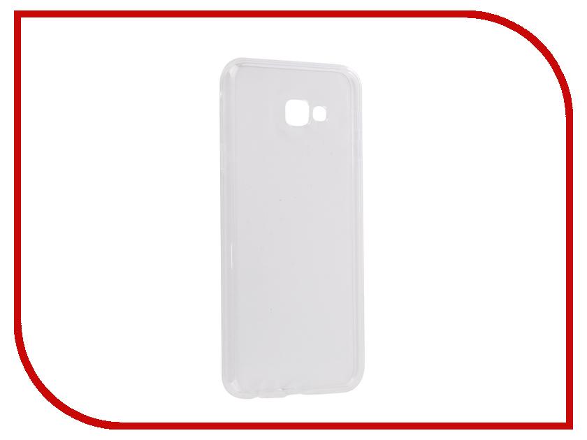 Аксессуар Чехол для Samsung Galaxy J4 Plus 2018 J415F Svekla Silicone Transparent SV-SGJ415F-WH аксессуар чехол для samsung galaxy j7 j730 2017 gecko transparent glossy white s g sgj7 2017 wh