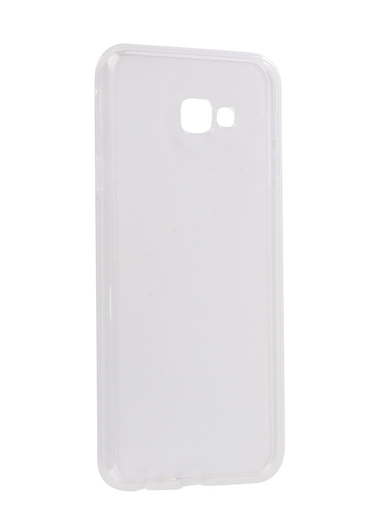 Аксессуар Чехол для Samsung Galaxy J4 Plus 2018 J415F Svekla Silicone Transparent SV-SGJ415F-WH