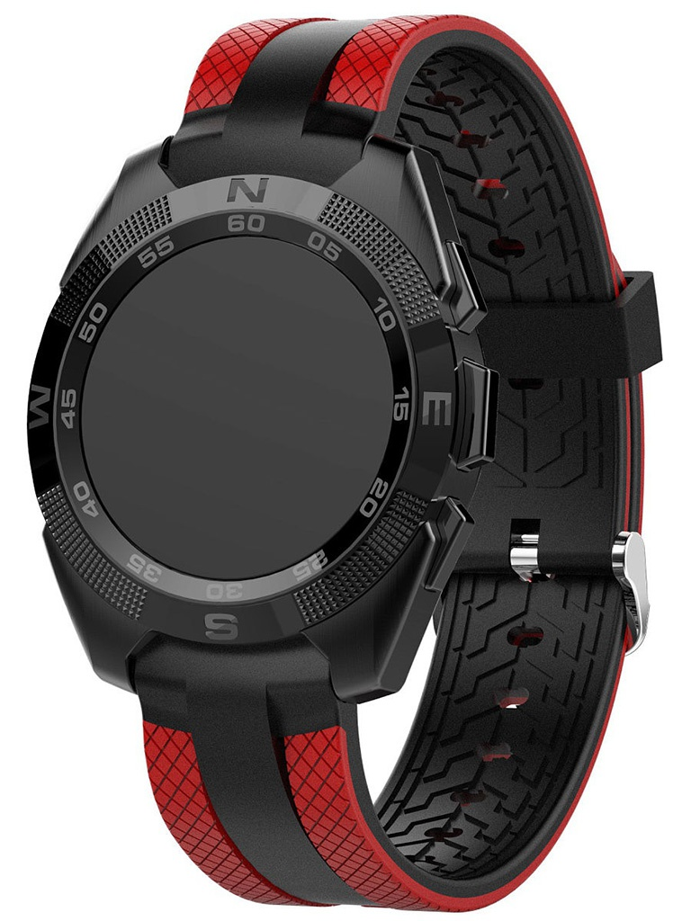 Умные часы Prolike PLSW7000RD Black-Red