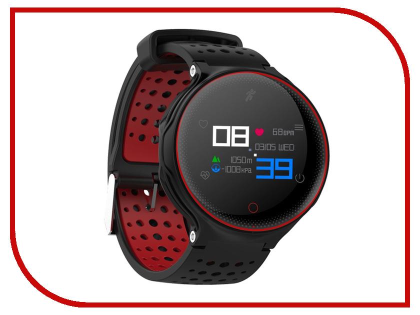 Умные часы Prolike PLSW1000CRD Red prolike plsw2000 black умные часы