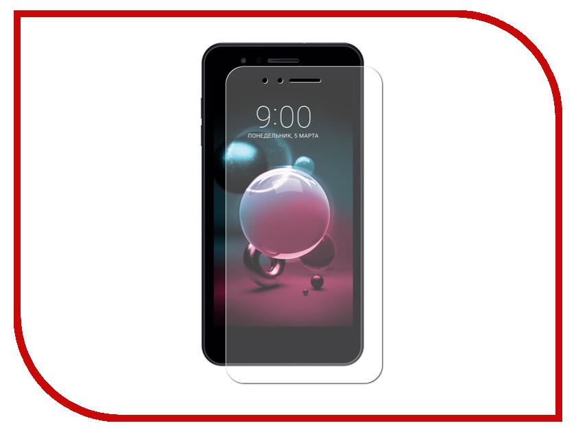 Аксессуар Защитное стекло для LG K9 Svekla ZS-SVLGX210NMW аксессуар защитное стекло для xiaomi mi mix 2s svekla full screen white zs svxirmi2s fswh