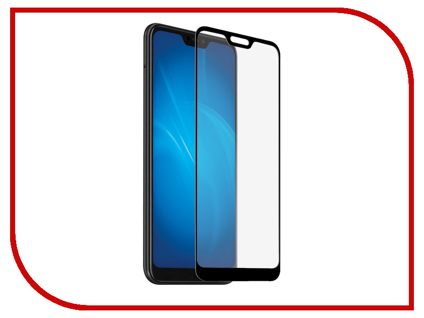 Аксессуар Защитное стекло для Xiaomi Redmi Note 6 Pro Svekla Full Screen Black ZS-SVXIREDN6P-FSBL аксессуар защитное стекло для xiaomi redmi note 4 4 pro 2017 svekla full screen white zs svxiredn42017 fswh