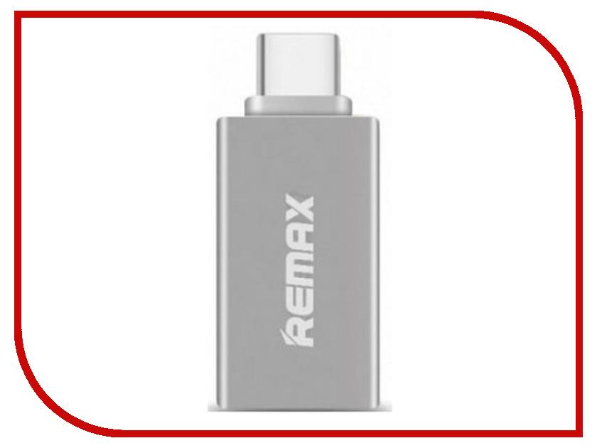 Аксессуар Remax RA-OTG Type-C Silver remax mini micro usb otg plug for android mobile